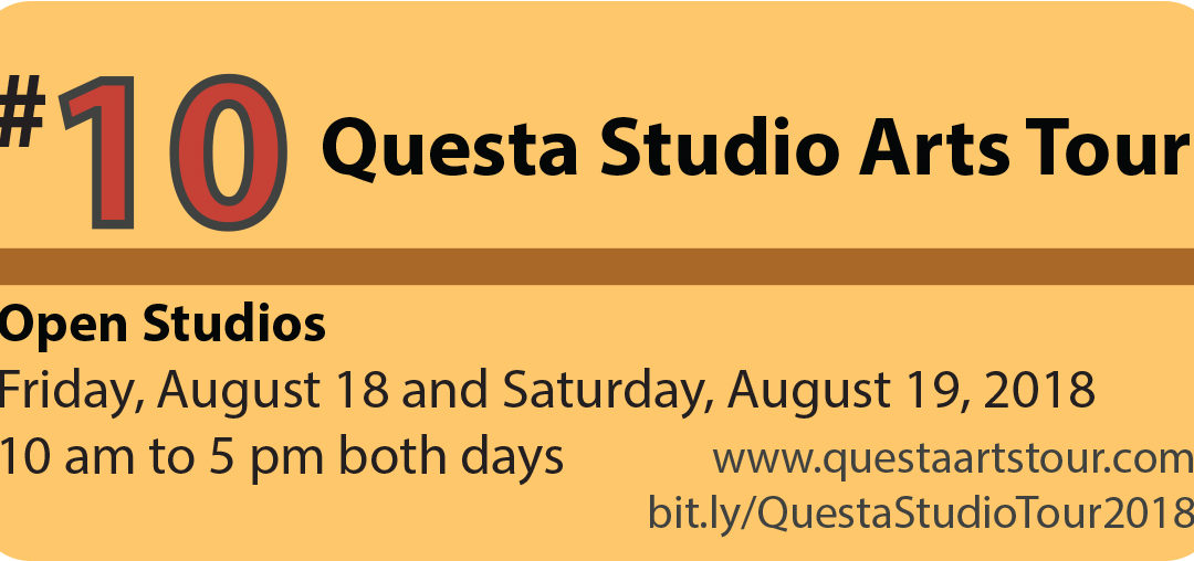 Questa Studio Arts Tour 2018 – Questa, NM