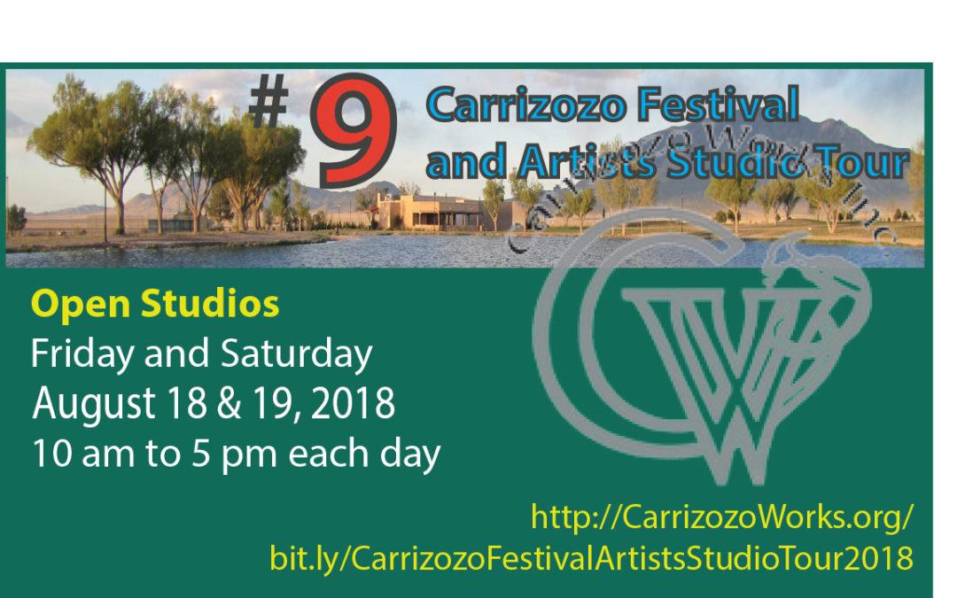 Carrizozo Festival & Artists Studio Tour – Carrizozo, NM