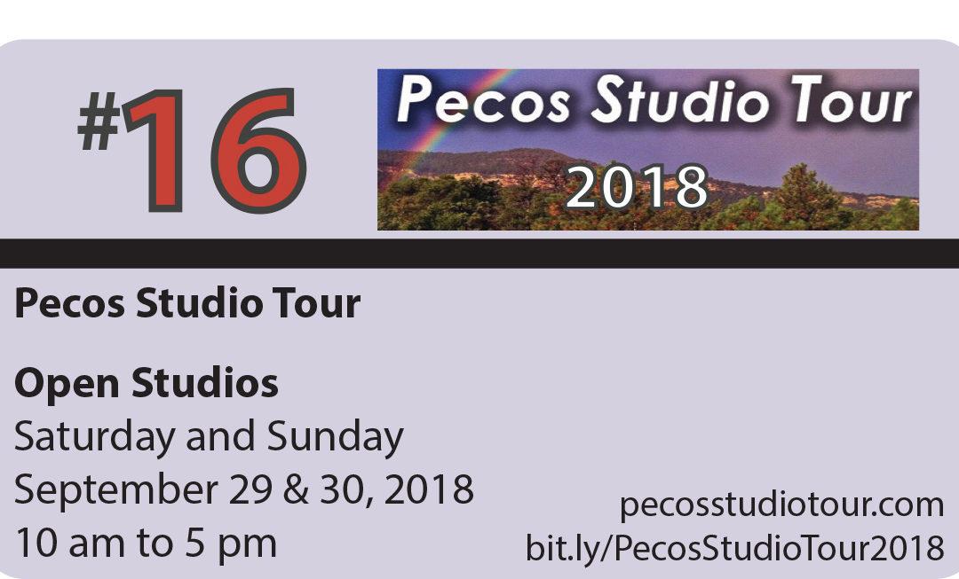 Pecos Studio Tour 2018 – Pecos Valley, NM