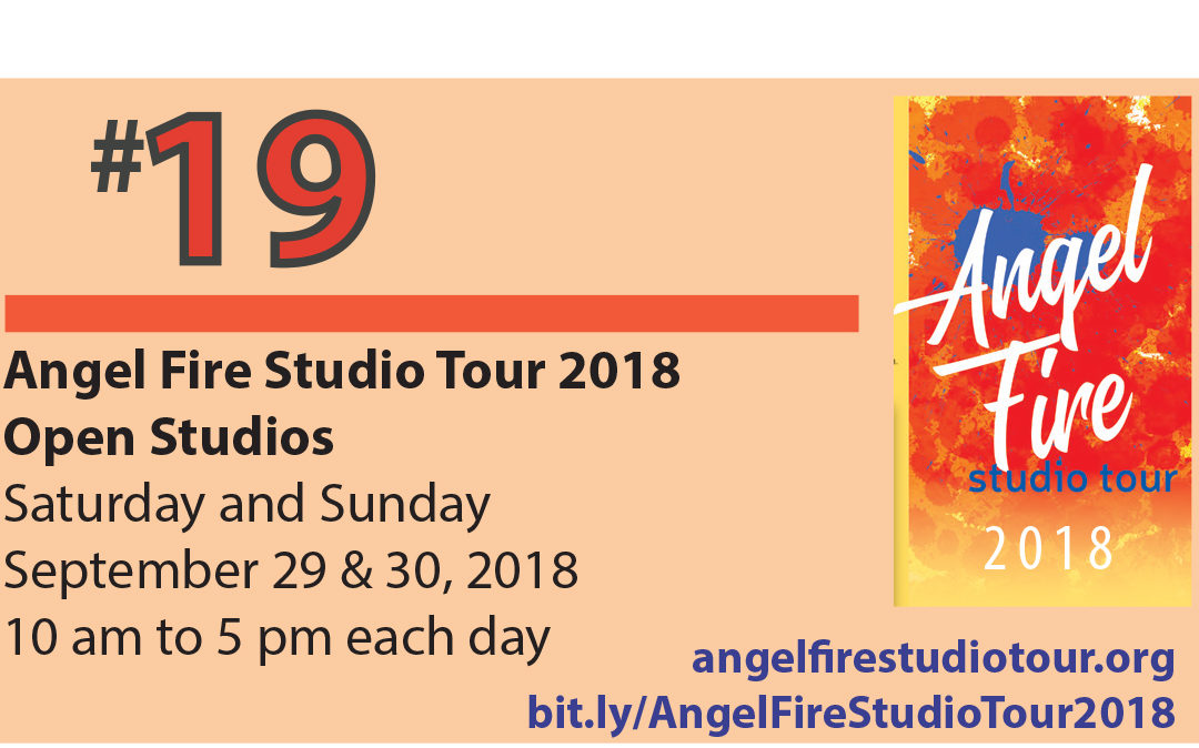 Angel Fire Studio Tour 2018 – Angel Fire, NM