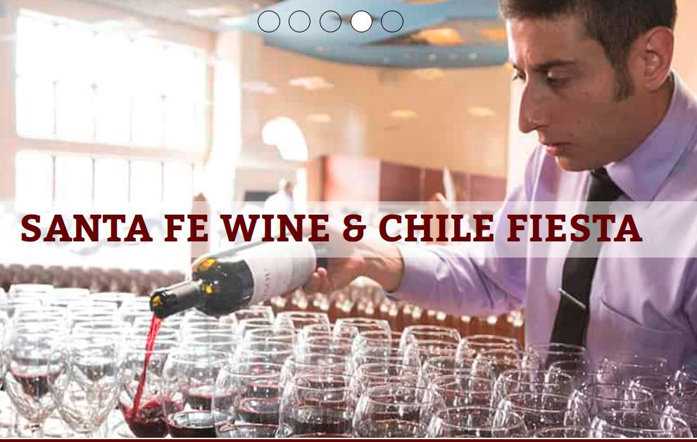 Santa Fe Wine & Chile Festival 2018 – Santa Fe, NM
