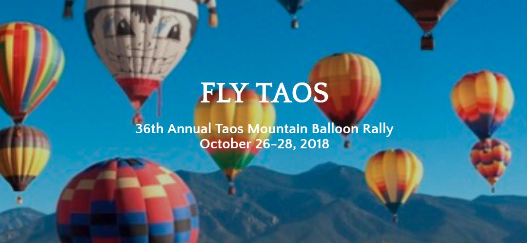 Taos Mountain Balloon Rally 2018 – Taos Mountain, NM
