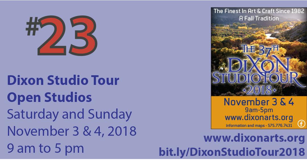 Dixon Studio Tour 2018 – Dixon, NM