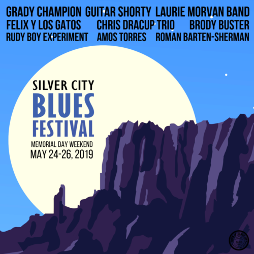 Silver City Blues, Glass, Plein Air and More ! May 24, 25, 26, 2019