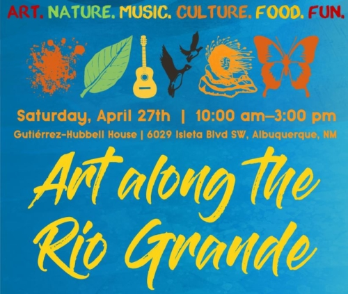 Art Along the Rio Grande April 27 10 am - 3 pm ABQ