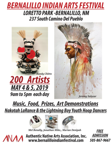 Bernalillo Indian Arts Festival 2019 May 4, 5, 2019