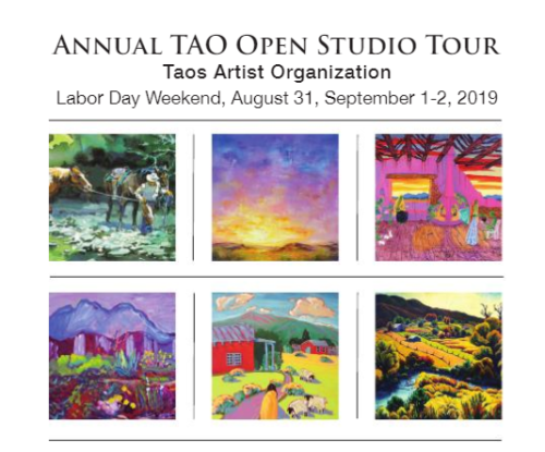 Tao Studio Tour - Taos, NM Labor Day Weekend Aug 31, Sep 1, 2019