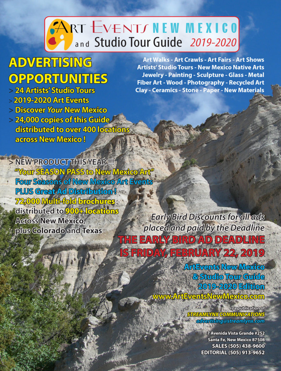 ArtEvents New Mexico 2019-2020 DEMO BOOK FREE DOWNLOAD